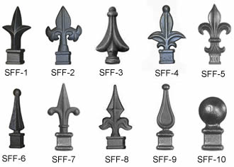 Steel Fence Brackets Hinges Amp Finials